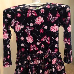 Girls size 6 floral dress